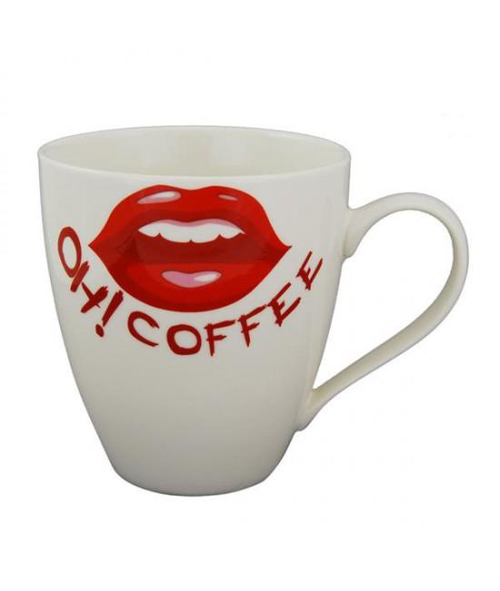 Lipsy hrnček na kávu 0,6l porcelán