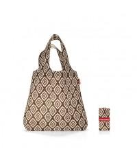 Nákupná taška Reisenthel Mini Maxi Shopper Diamonds Mocha