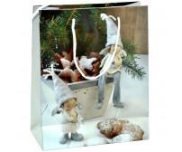 Darčeková papierová taška - medovníčky