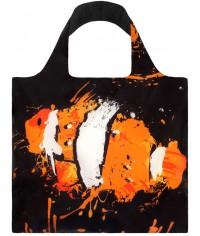 Nákupná taška LOQI Anima Fish & Toucan