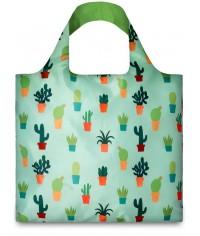 Nákupná taška LOQI Artists Cactus
