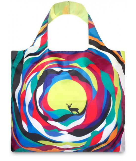 Nákupná taška LOQI Artists Psychedelic