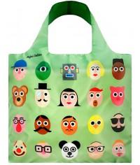 Nákupná taška LOQI Artists Faces