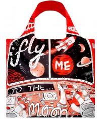 Nákupná taška LOQI Artists Moon