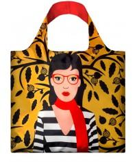 Nákupná taška LOQI Cool People Snake Lady