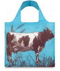 Nákupná taška LOQI Farm Cow