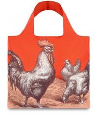 Nákupná taška LOQI Farm Rooster