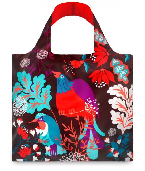 Nákupná taška LOQI Forest Bird