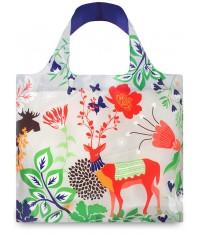 Nákupná taška LOQI Forest Deer