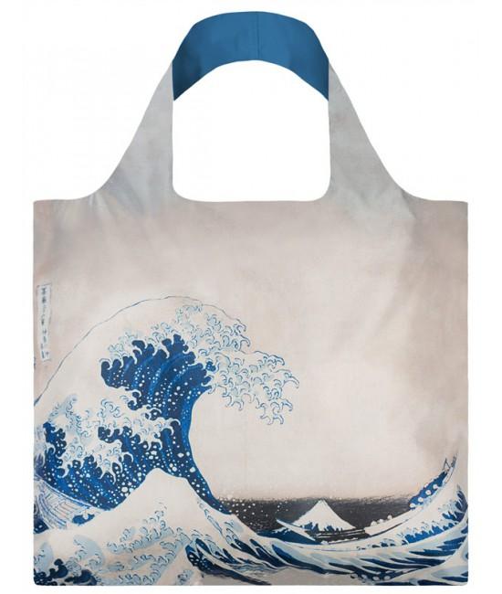 Nákupná taška LOQI Museum, Hokusai - The Great Wave