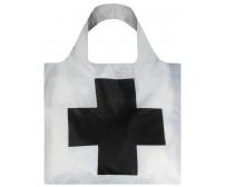 Nákupná taška LOQI Museum, Malevich - Black Cross