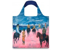 Nákupná taška LOQI Museum, Gauguin - Horseman on the Beach Nákupná taška LOQI Museum, Gauguin - Horseman on the Beach