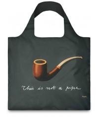 Nákupná taška LOQI Museum, Magritte - The Treachery of Images